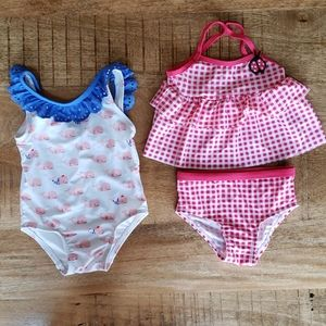 Cute swim bundle 6-12 month